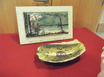 Plaque and Bowl